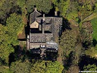 aerial photo of Hall i th Wood , Bolton Greater