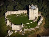 aerial of Conisborough